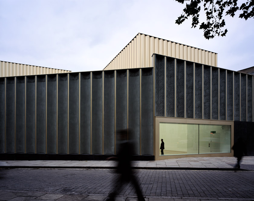 The exterior of Nottingham Contemporary, designed by Caruso St John. Photography: Hélène Binet