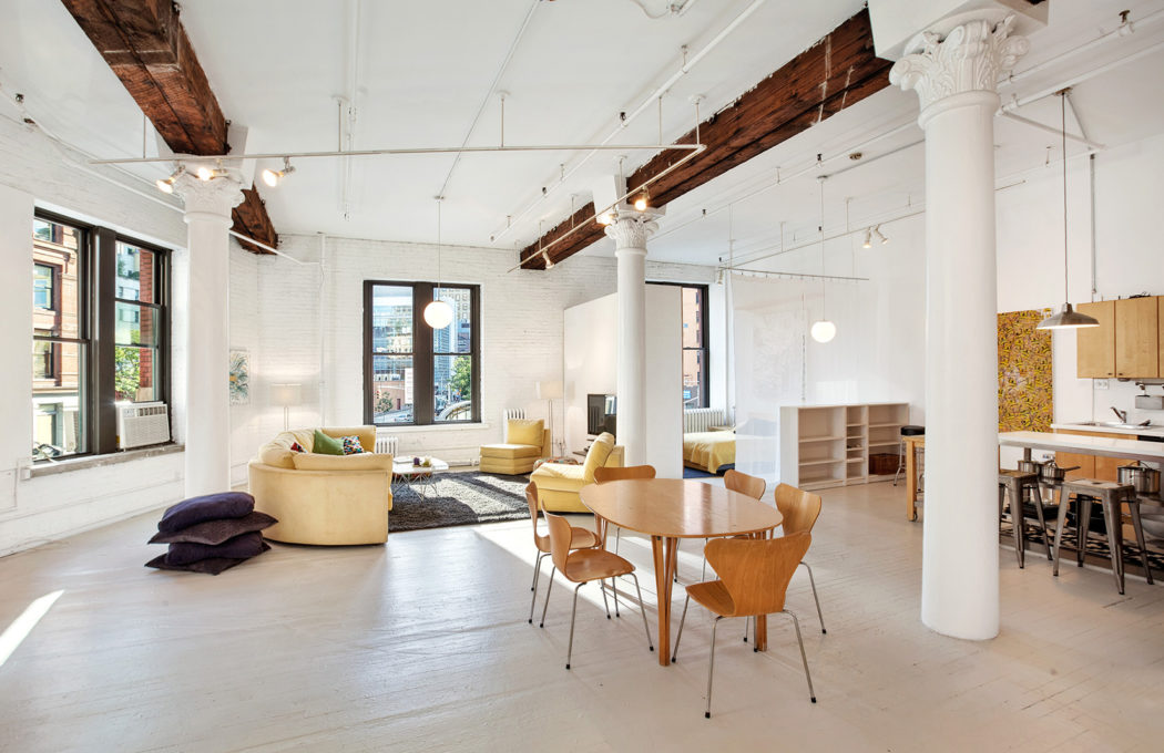 Loft in new york for sale slide show8 photos elika new for Tribeca homes for sale