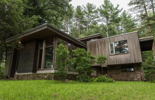 Marcel Breuer's Bauhaus bungalow back on the market for $2.3m in Massachusetts