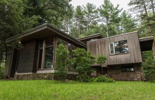 Marcel Breuer's Bauhaus bungalow back on the market for $2.3m in Massachusetts