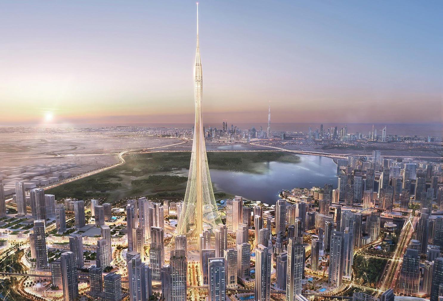 The Tower Dubai Santiago Calatrava