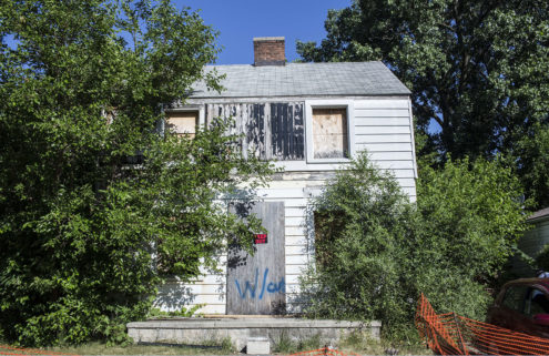 Rosa Parks' Detroit home is rebuilt in Berlin