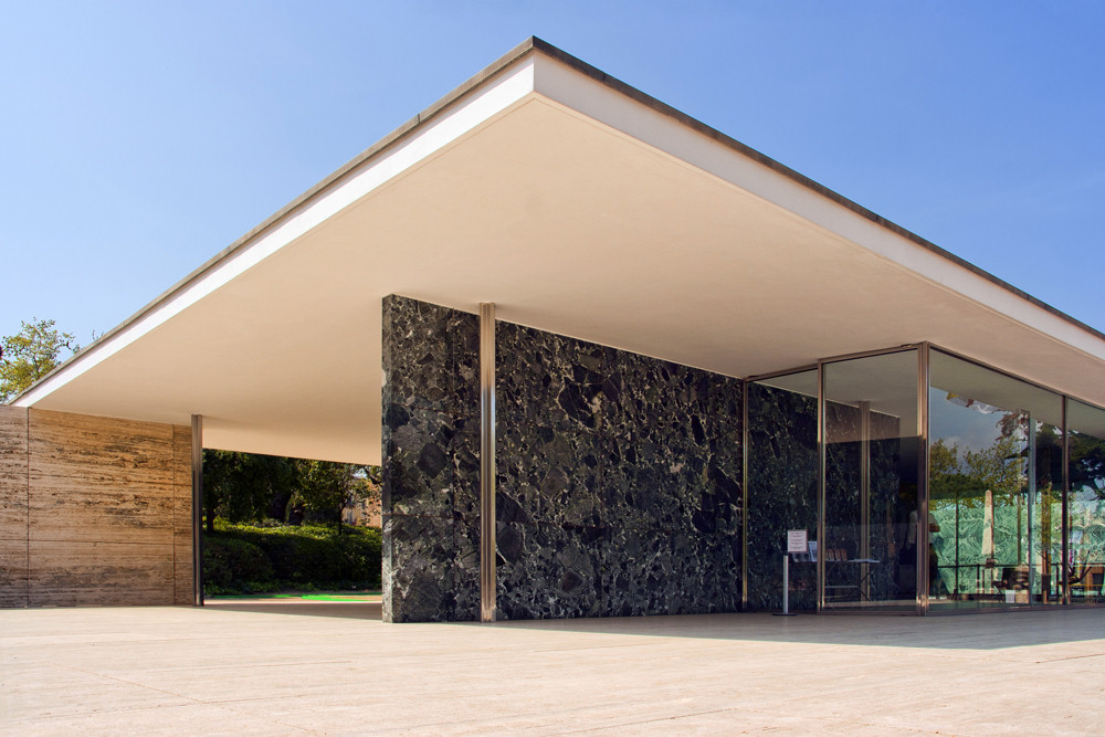 Tom Ford The Barcelona Pavilion by Mies van der Rohe