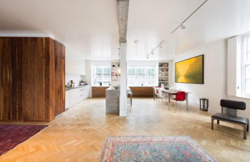 Rental of the week: a London loft by Feilden Fowles Architects