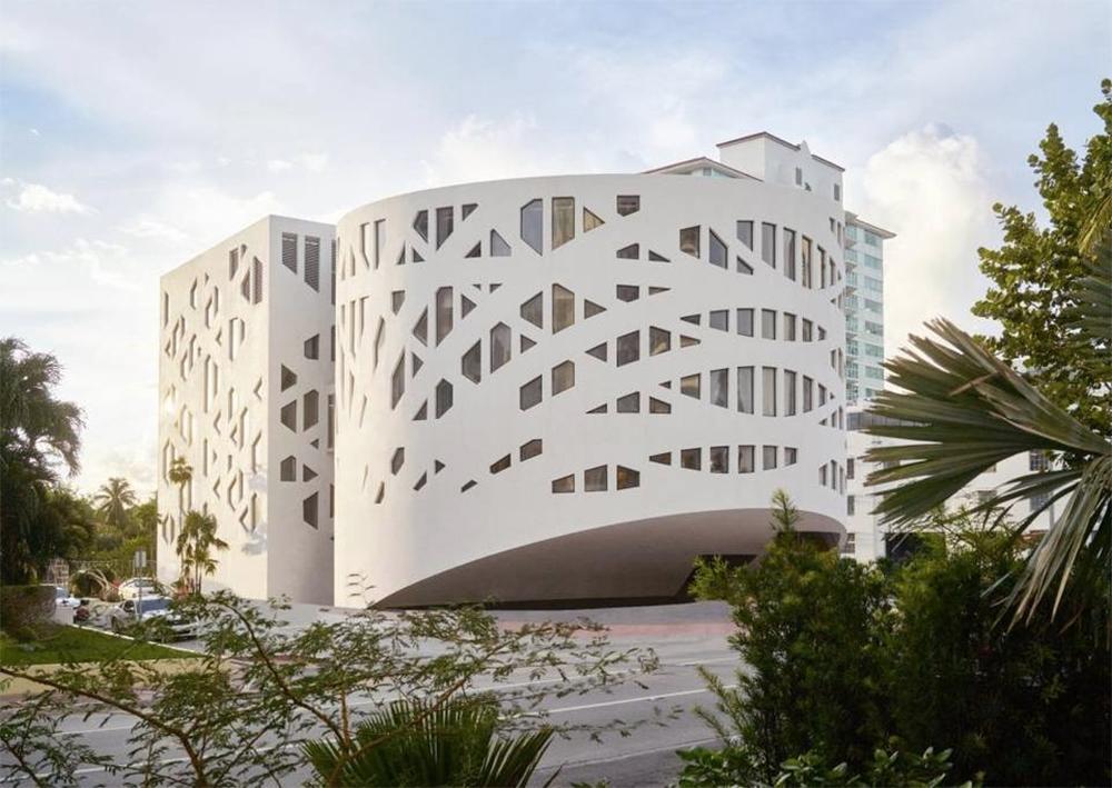 Faena District Miami 's Faena Forum building, designed by OMA