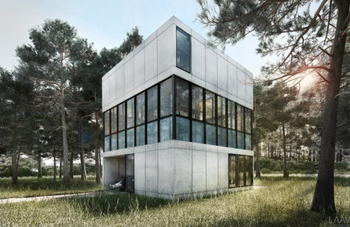 Could you help this 'fish tank' home by LAAV Architects get built?
