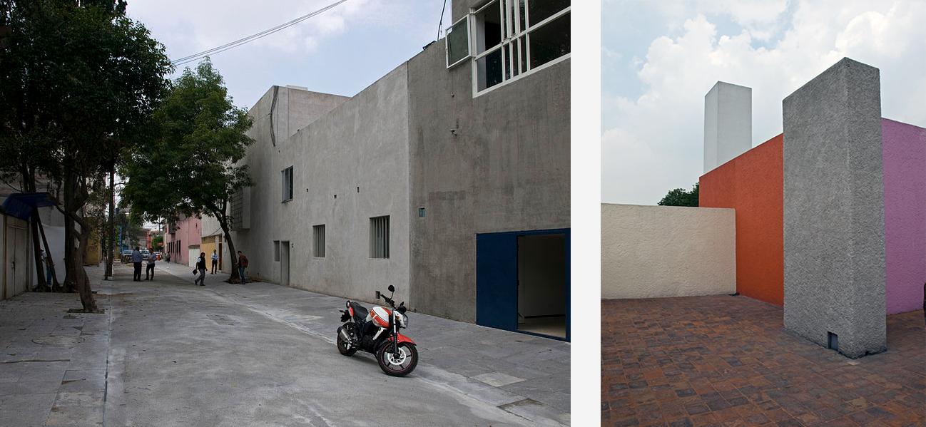 Philip Lim Luis Barragán's house, Mexico City