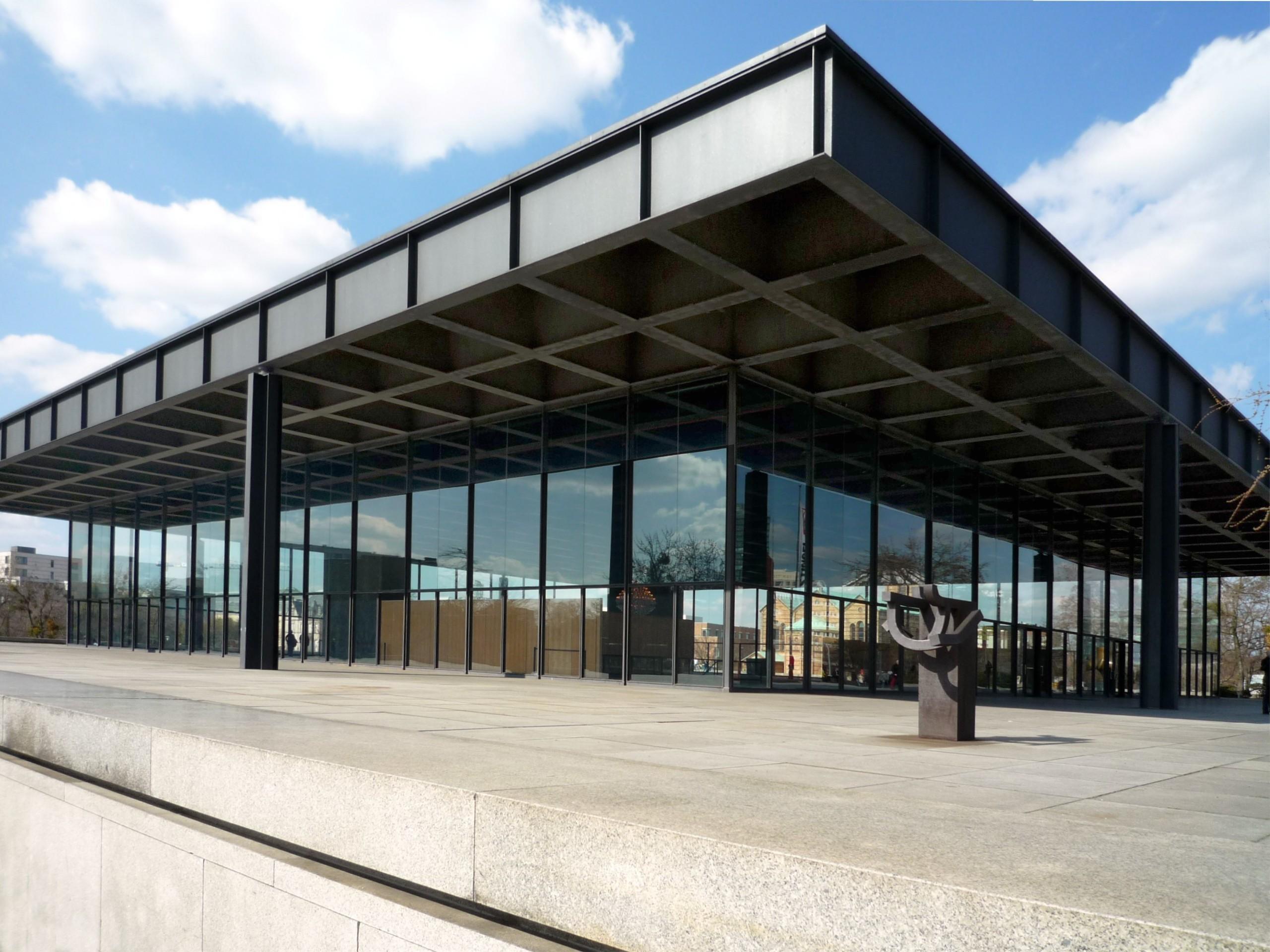 Consuelo Castiglioni Neue Nationalgalerie by Mies van der Rohe