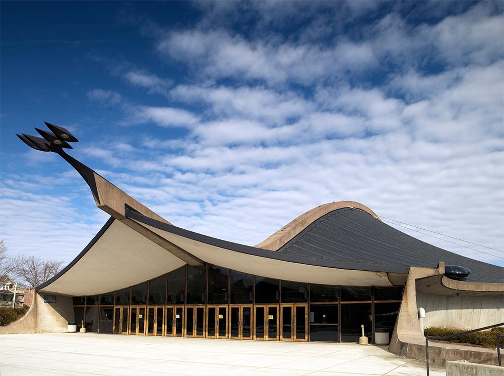 Saarinen's Ingalls Ice Centre