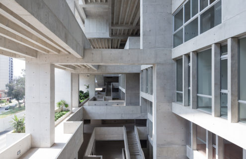 Lima university campus is named the world's best new building by RIBA