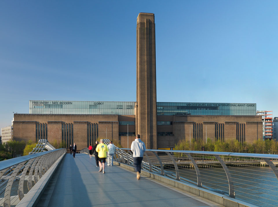 The formerBankside Power Station. Photography: Tate Modern