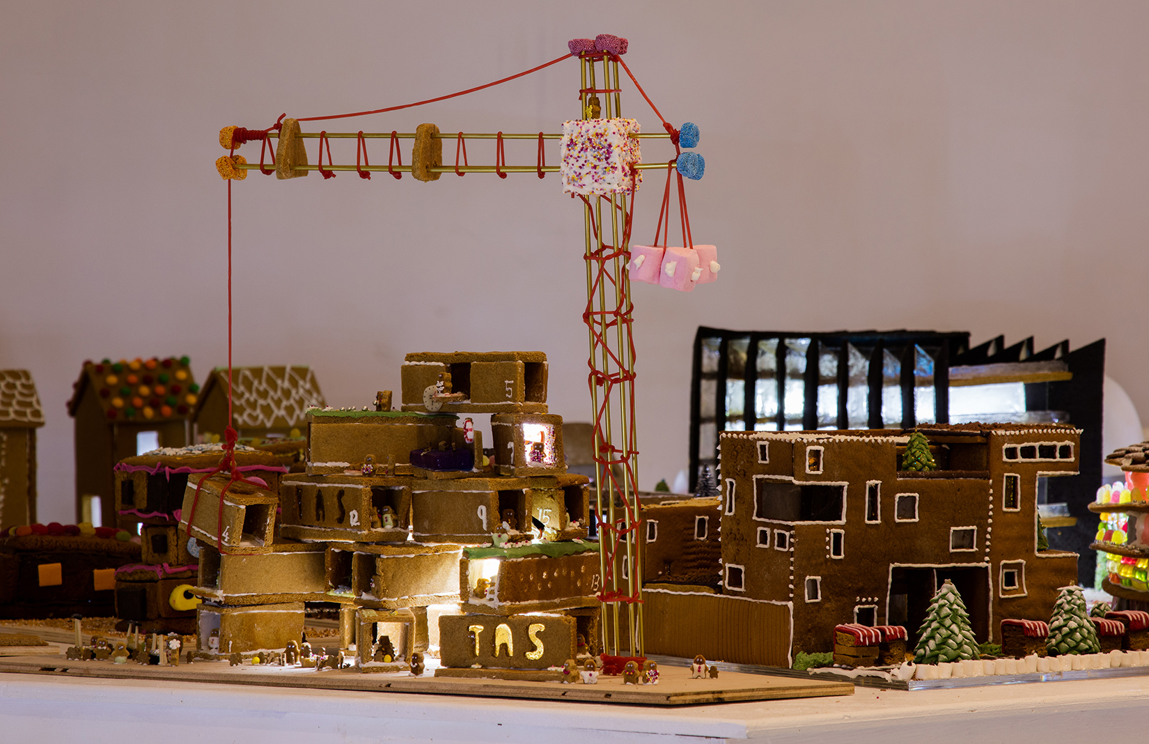 London Architects Build A Gingerbread City At The Museum