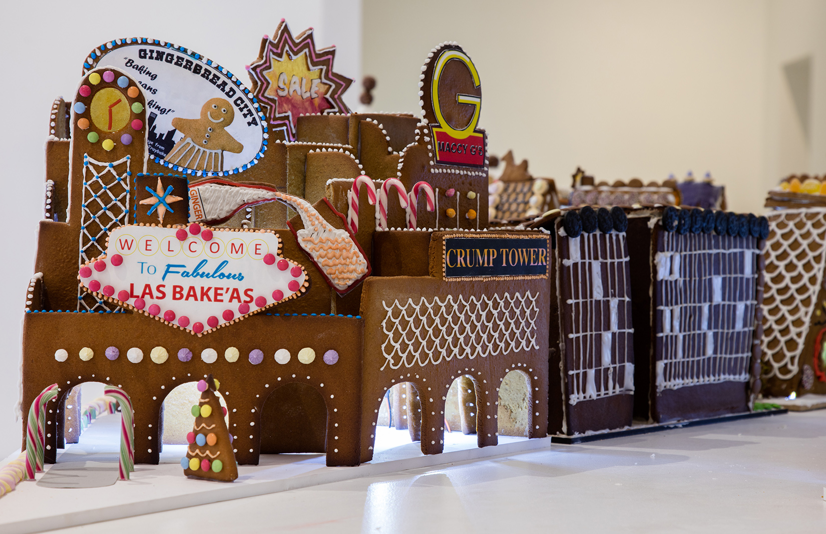 Gingerbread City in London