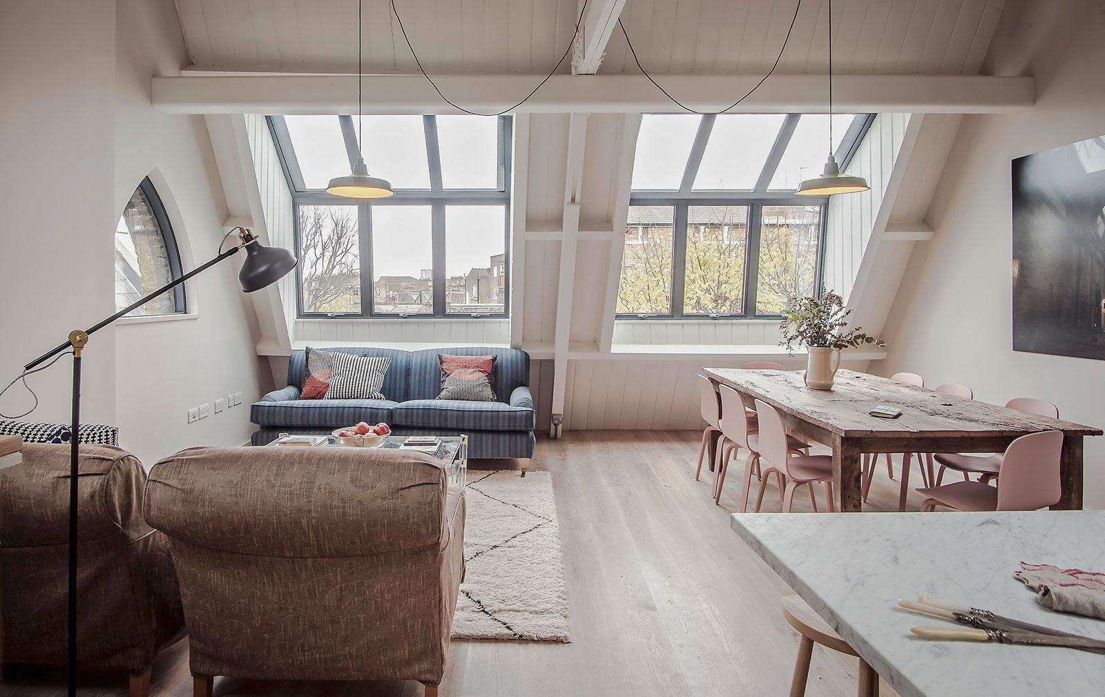 Properties Go On Sale Inside Grange Hall A Converted School In London