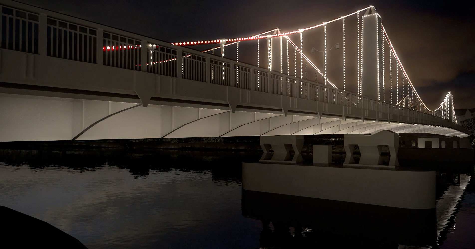 Illuminated River bridge installation by Leo Villareal and Lifschutz Davidson Sandilands