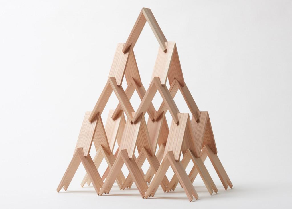 Kengo Kuma wooden tsumiki kit