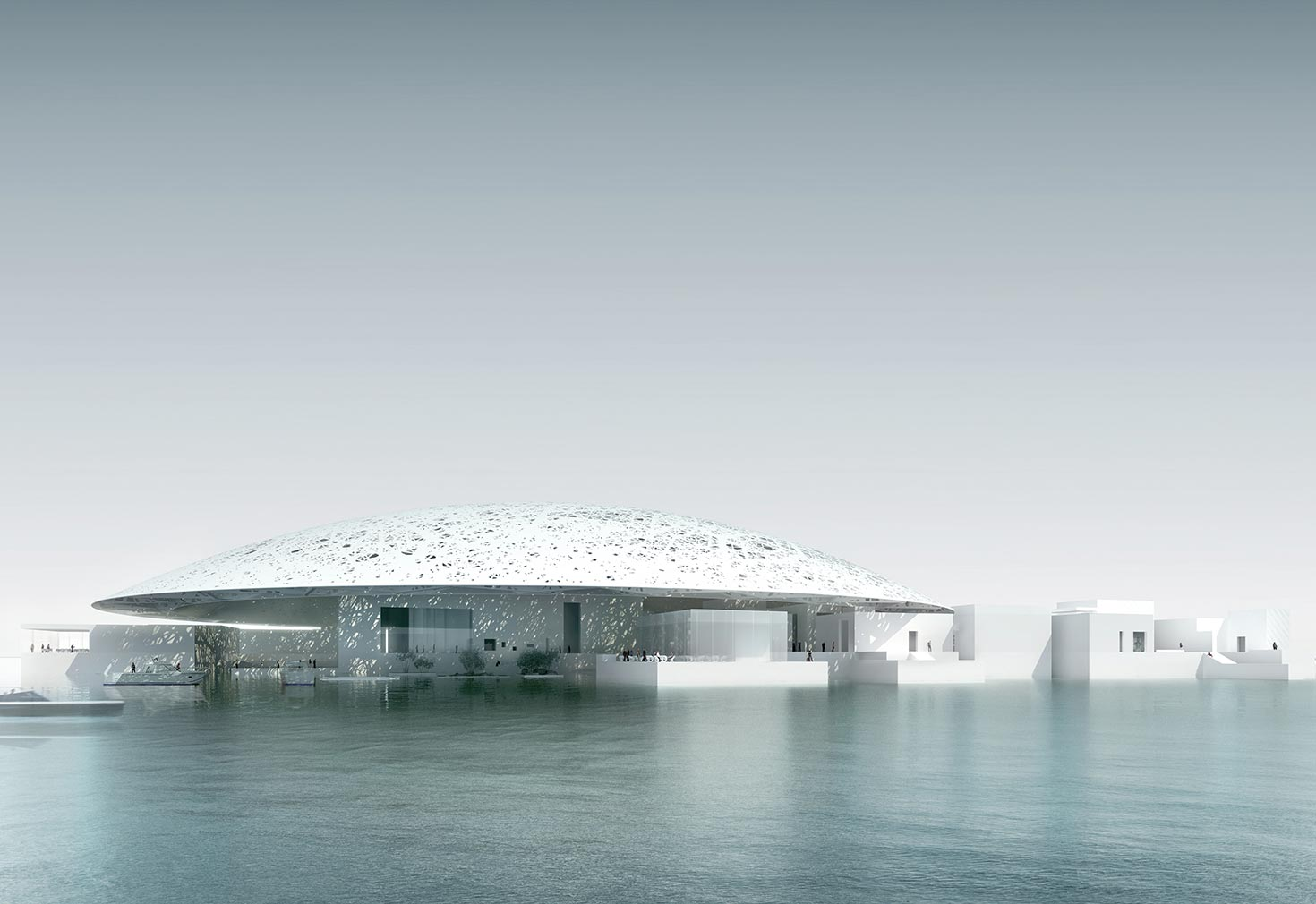 New museum Louvre Abu Dhabi