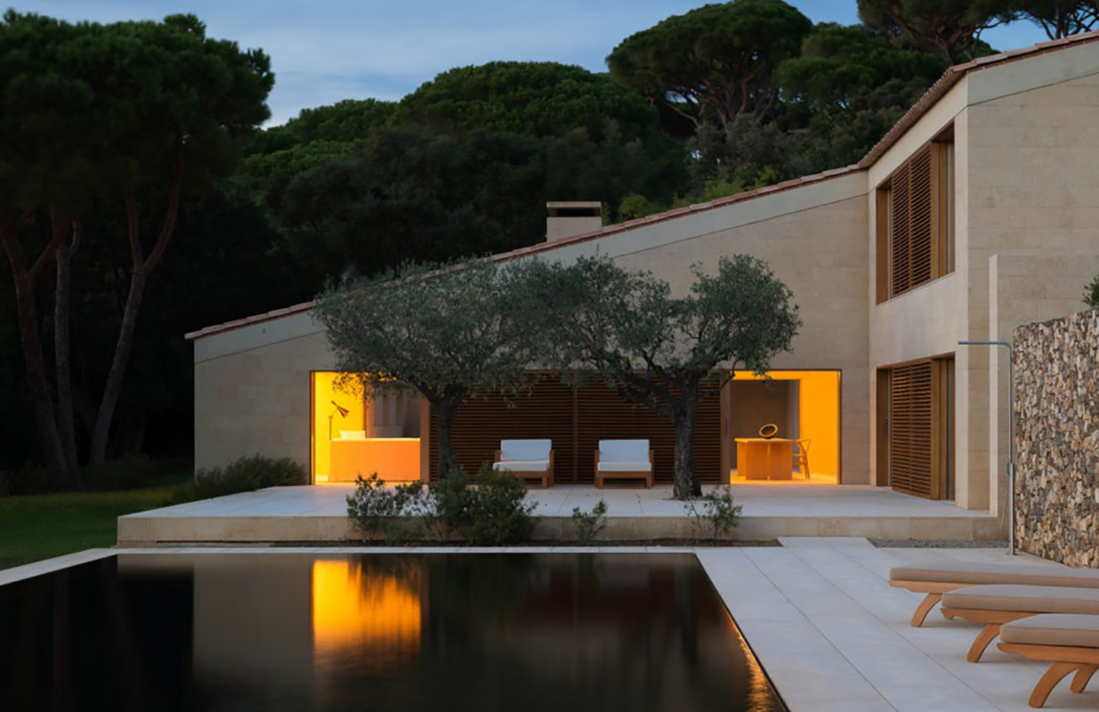 St Tropez house designed by John Pawson