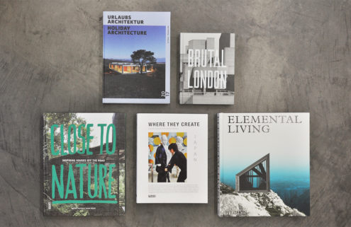 5 books for architecture and design lovers