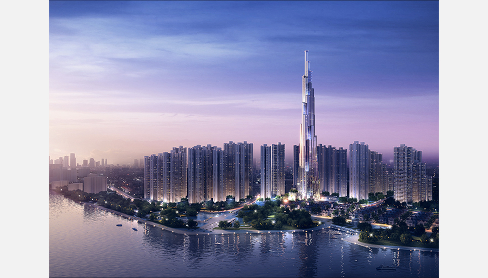 Tallest buildings topping out in 2017 – Vincom Tower