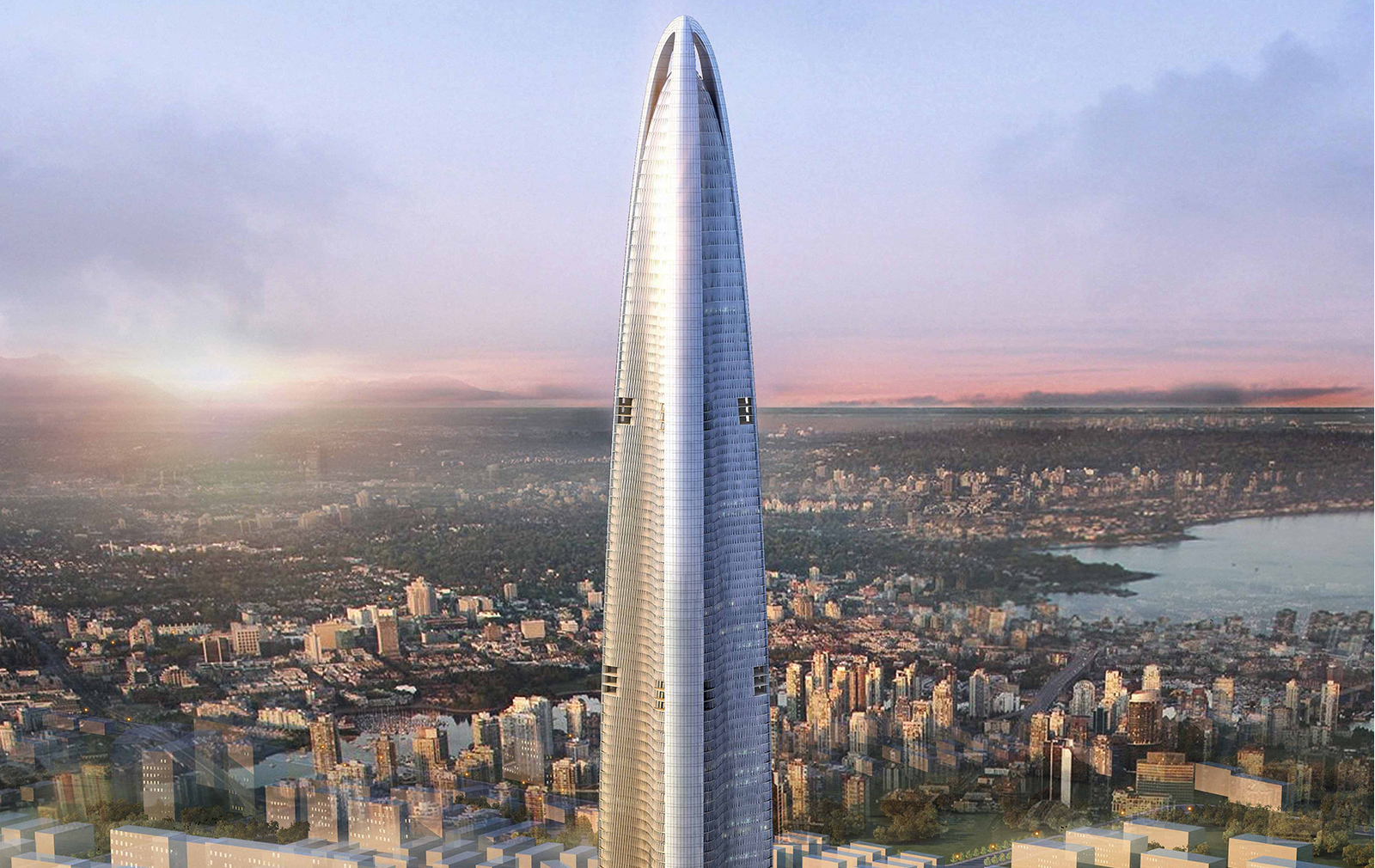 Tallest buildings topping out in 2017 - Wuhan Greenland Center