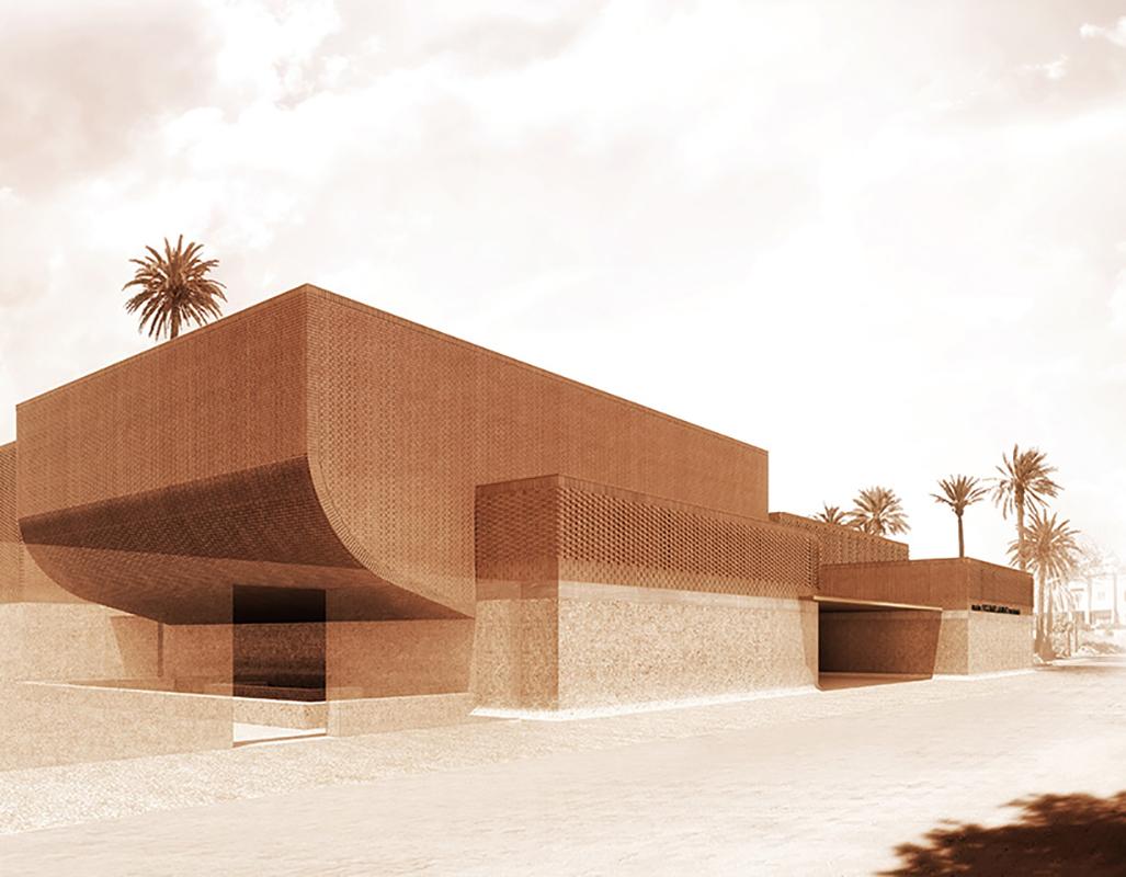 New museum Yves Saint Laurent Museum in Marrakech