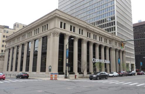 Albert Kahn-designed bank hits the market in Detroit