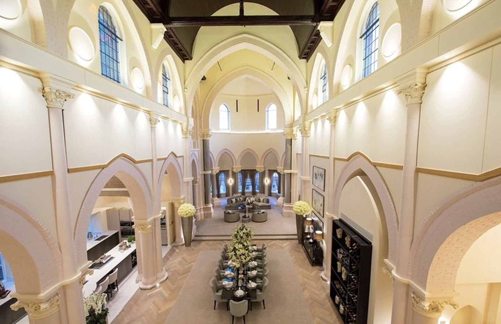 Converted chapel on the London property market