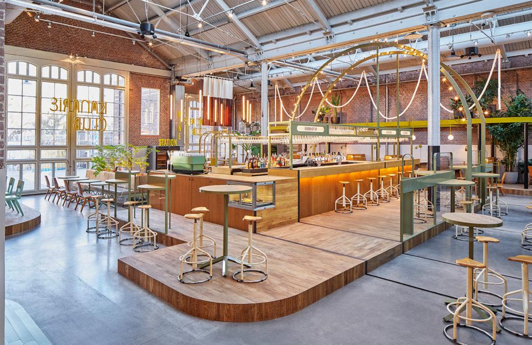 Kanarie Club Opens Inside An Amsterdam Tram Depot