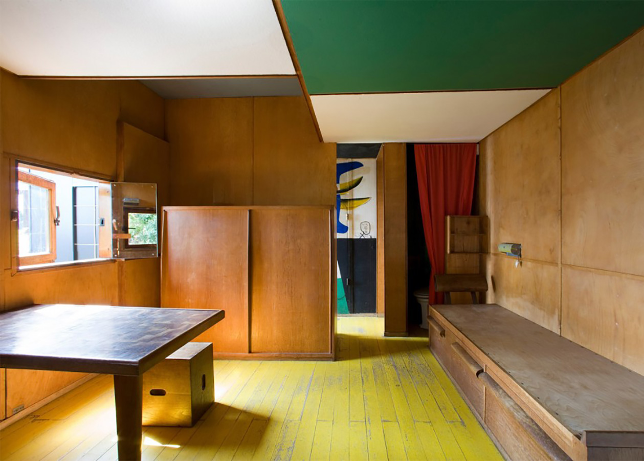 Midcentury cabin by Le Corbusier: the Cabanon
