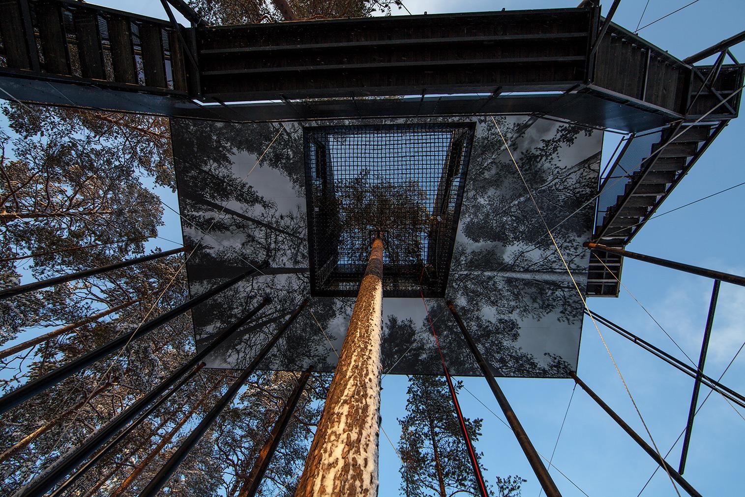 Snohetta treehouse treehotel