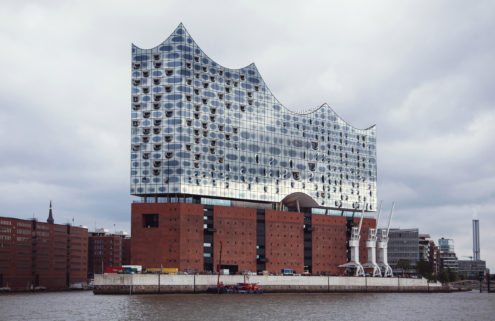 Hamburg's Elbphilharmonie concert hall hosts its first performance