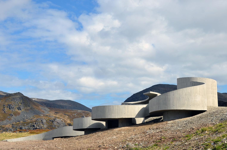 Havøysund Tourist Route, Norway, by Reiulf Ramstad Arkitekter