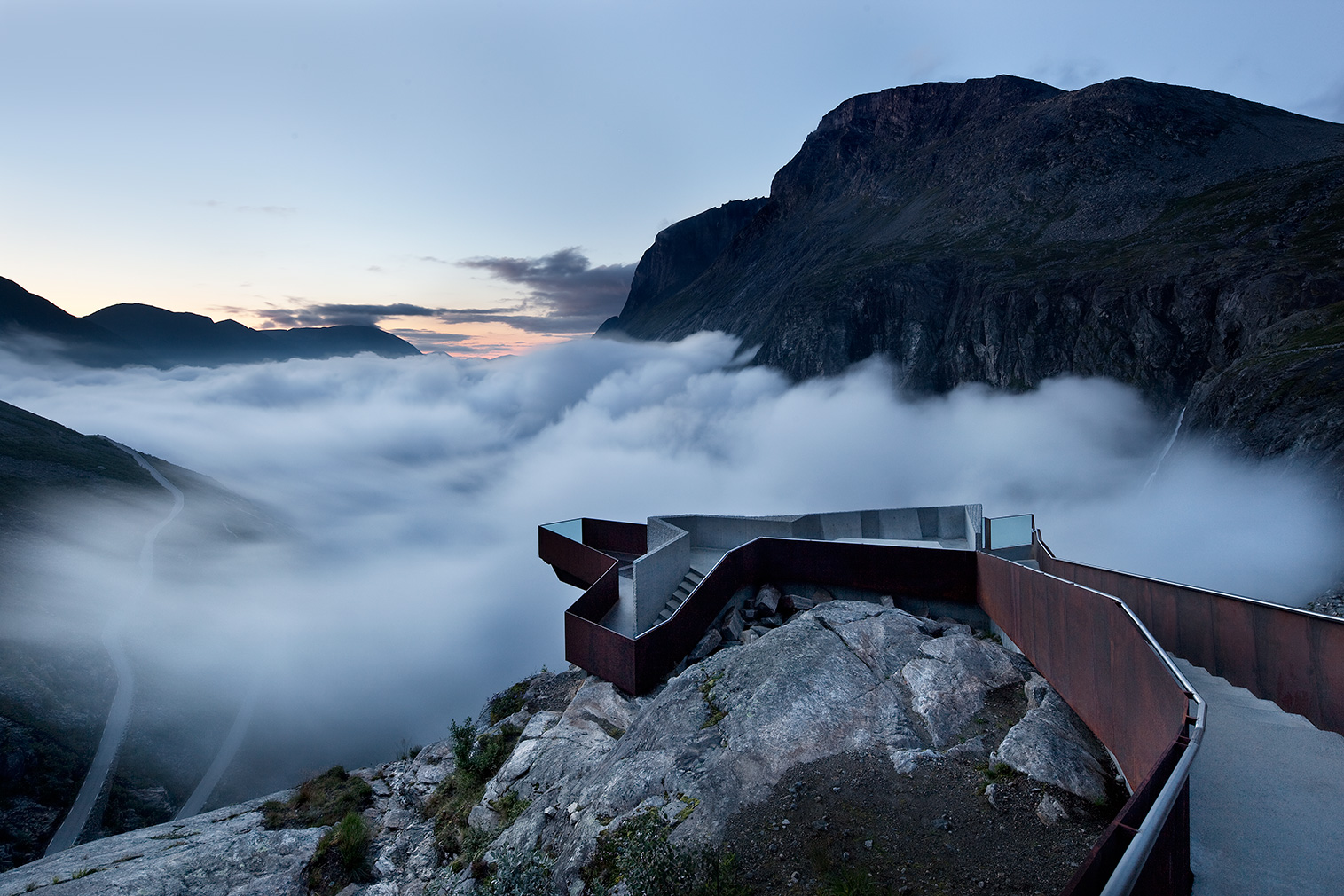 Trollstigen Tourist Route, Norway, by Reiulf Ramstad Architects