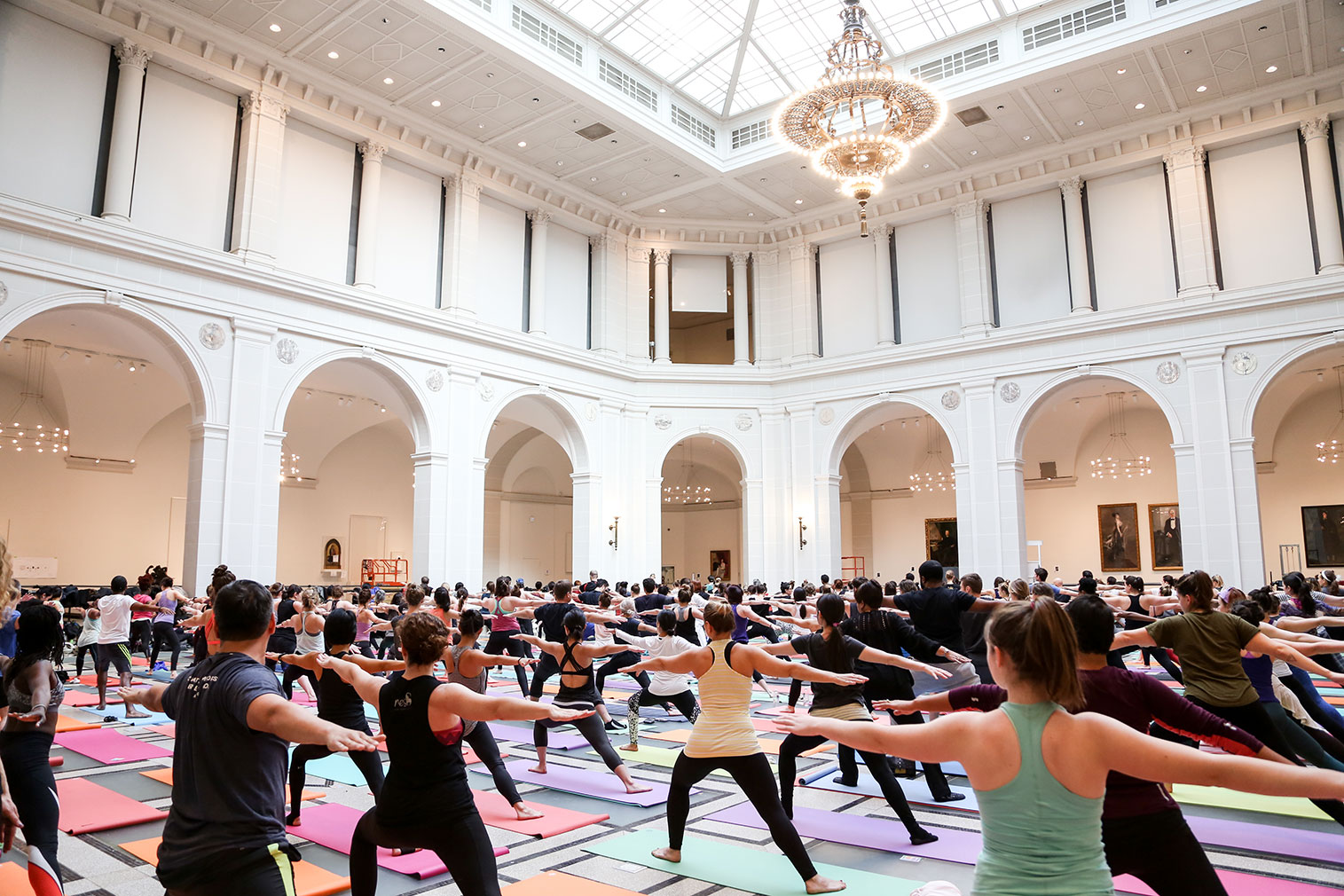 Yoga at Brooklyn Museum