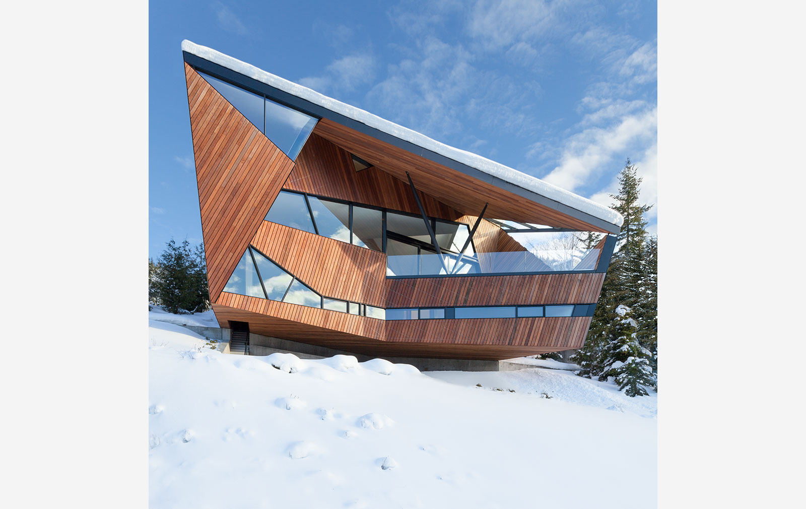 Chalet design: Hadaway House by Patkau Architects