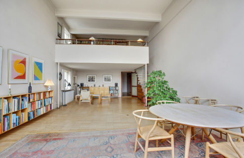 A home designed by Arne Jacobsen goes on sale in Copenhagen