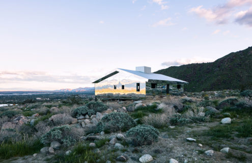 Doug Aitken builds a 'mirage' in Palm Springs for Desert X show
