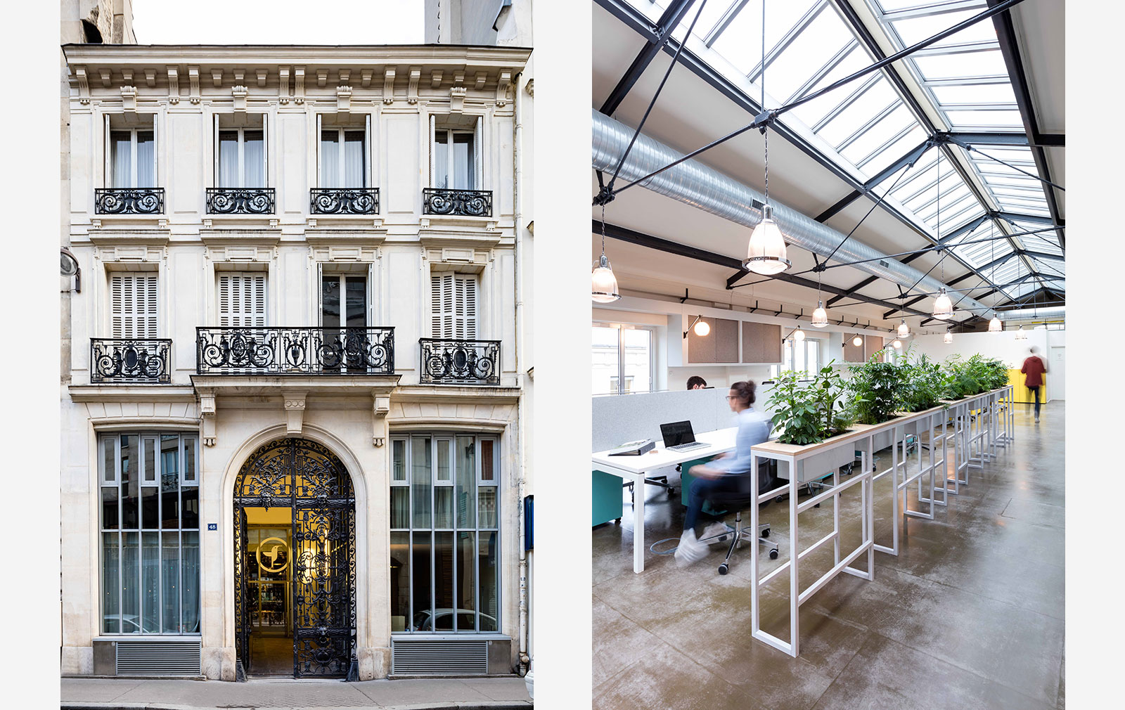 Deskopolitan coworking space in Paris, designed by MoreySmith