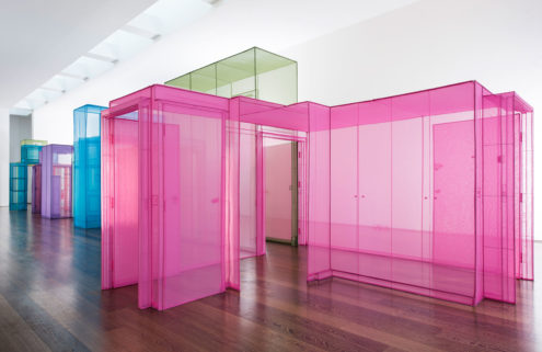 Do Ho Suh creates ghostly living spaces at Victoria Miro gallery