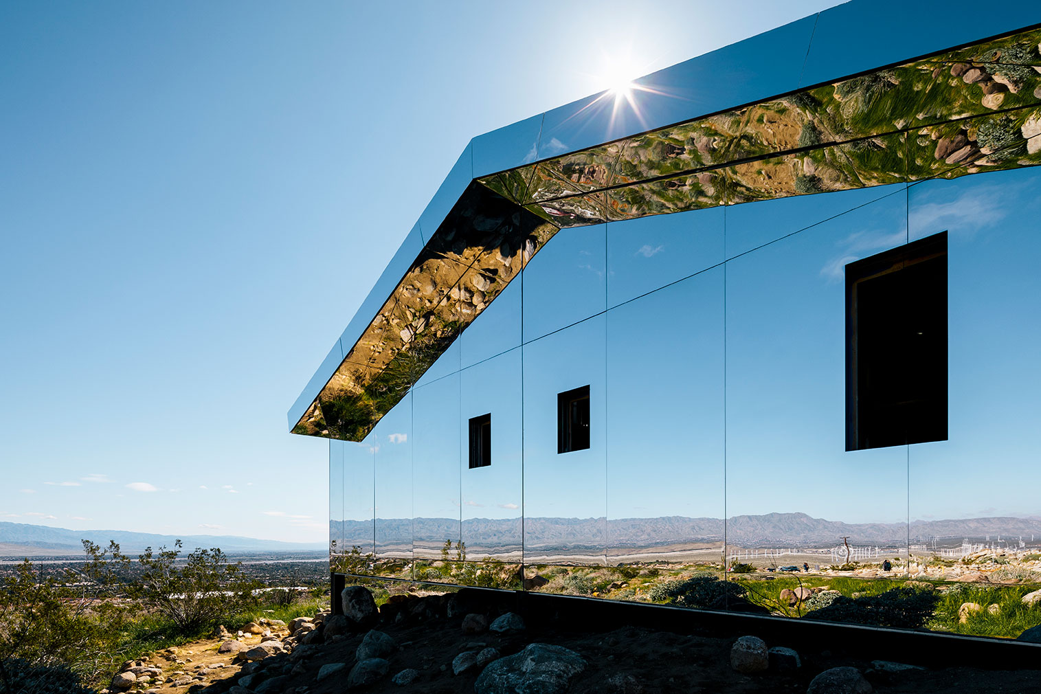 Mirage by Doug Aitken in the Californian desert