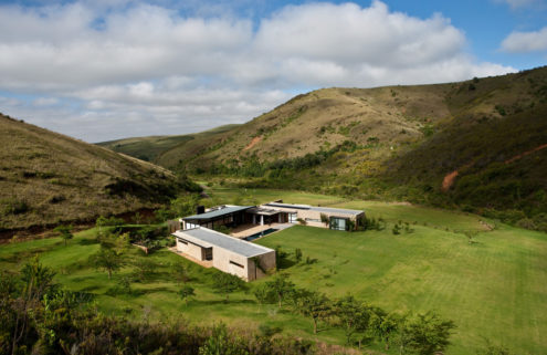 Holiday home of the week: a modern retreat hidden in the South African mountains