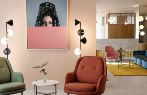 Designer Jaime Hayón gives Hotel Barceló Torre de Madrid a colour injection