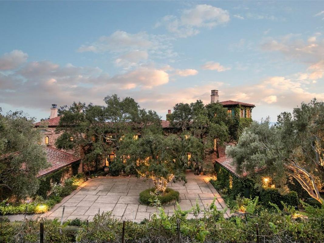 Jeff Bridges home Montecito