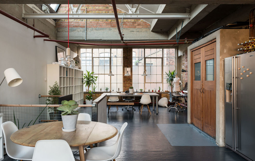 A Home Atop A London Shoe Factory Lists For 163 900k The Spaces