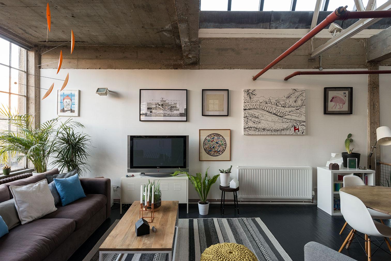 London warehouse conversion for sale
