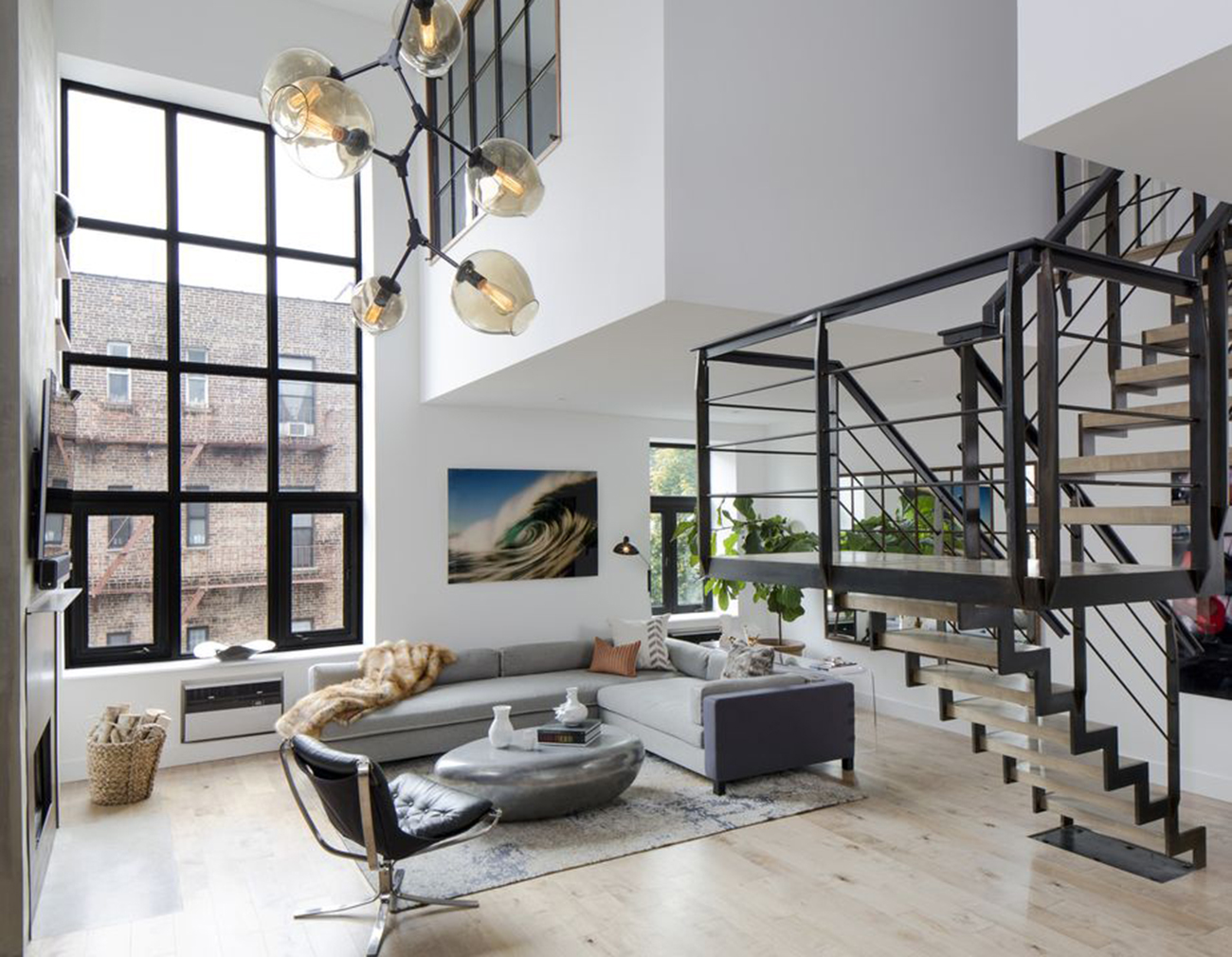 New-York-apartments-for-rent High Ceiling Living Room Ideas