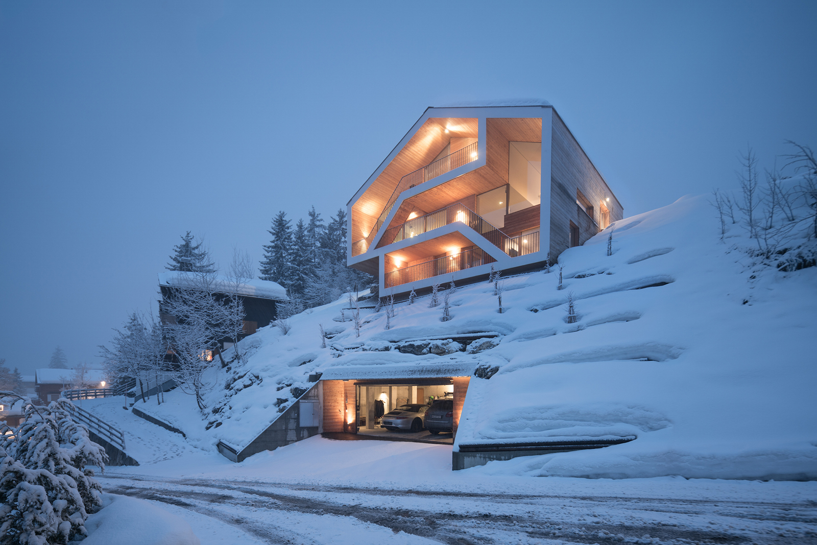 Chalet Anzere by SeARCH