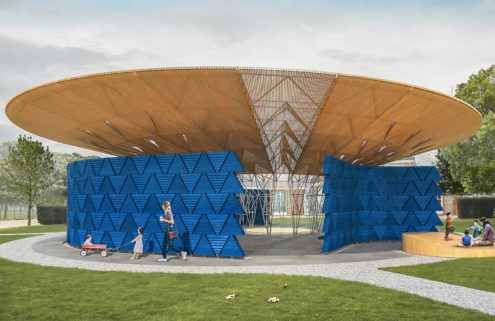 The 2017 Serpentine Pavilion will be shaped like a tree