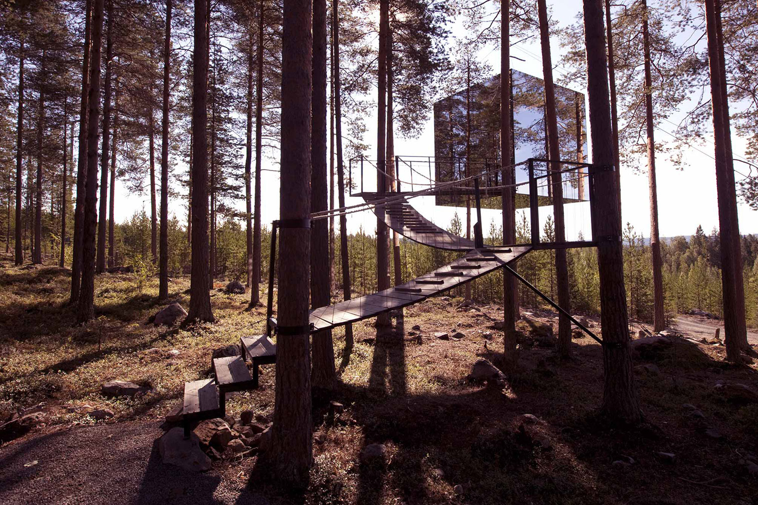 TreeHotel in Sweden